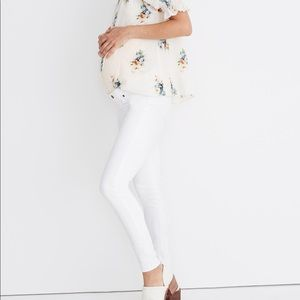NEW Madewell Maternity Side-Panel Skinny Jeans